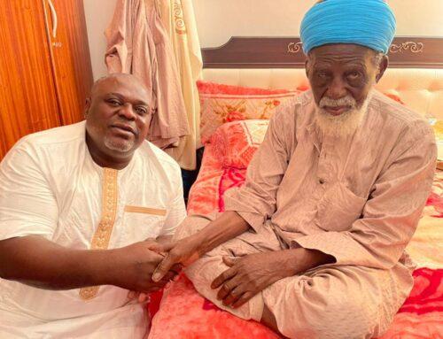 AMI Wishes Chief Imam Happy Birthday As He Clocks 102