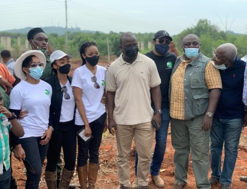 Atta-Mills Institute Joins The JJ Rawlings Foundation In Tree-Planting Exercise In Achimota School.